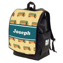 School Bus Backpack w/ Front Flap  (Personalized)