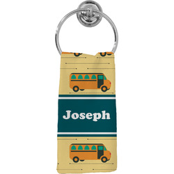 School Bus Hand Towel - Full Print (Personalized)