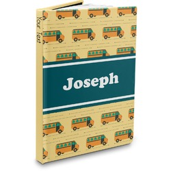 School Bus Hardbound Journal (Personalized)