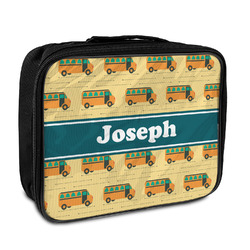School Bus Insulated Lunch Bag (Personalized)