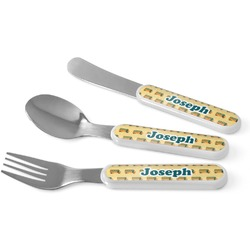 School Bus Kid's Cutlery (Personalized)