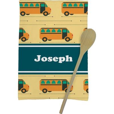 School Bus Kitchen Towel - Full Print (Personalized)