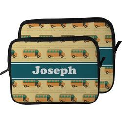 School Bus Laptop Sleeve / Case (Personalized)