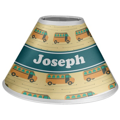 School Bus Coolie Lamp Shade (Personalized)