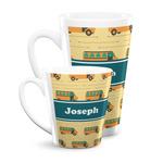 School Bus Latte Mug (Personalized)