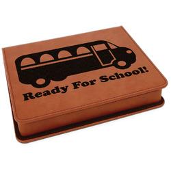School Bus Leatherette 4-Piece Wine Tool Set (Personalized)