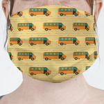 School Bus Face Mask Cover (Personalized)