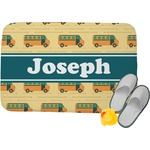 School Bus Memory Foam Bath Mat (Personalized)
