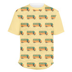 School Bus Men's Crew T-Shirt (Personalized)