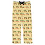 School Bus Mens Pajama Pants (Personalized)