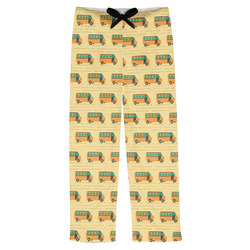 School Bus Mens Pajama Pants (Personalized)