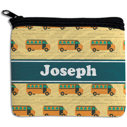 School Bus Rectangular Coin Purse (Personalized)
