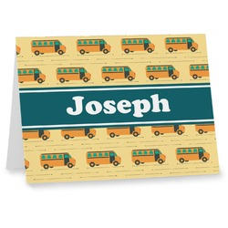 School Bus Notecards (Personalized)