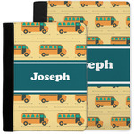 School Bus Notebook Padfolio w/ Name or Text