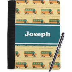 School Bus Notebook Padfolio (Personalized)