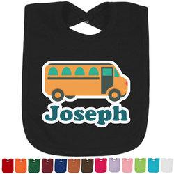 School Bus Baby Bib - 14 Bib Colors (Personalized)