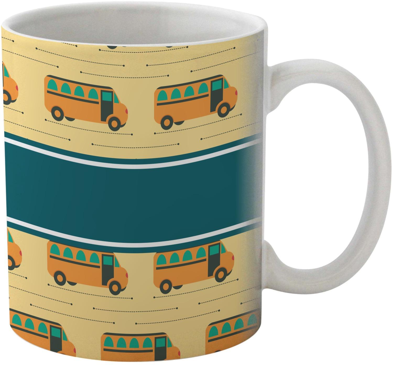 school bus coffee mug personalized youcustomizeit