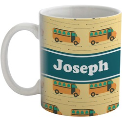 School Bus Coffee Mug (Personalized)