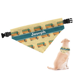 School Bus Dog Bandana (Personalized)