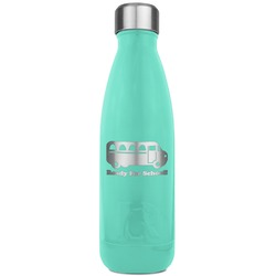 School Bus RTIC Bottle - Teal (Personalized)