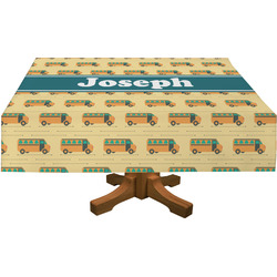 School Bus Tablecloth (Personalized)