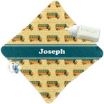School Bus Security Blanket (Personalized)