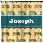 School Bus Shower Curtain (Personalized)