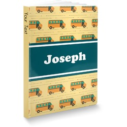 School Bus Softbound Notebook (Personalized)