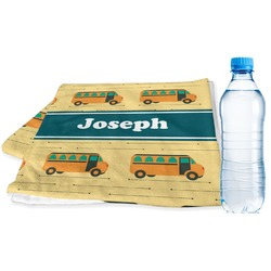 School Bus Sports & Fitness Towel (Personalized)