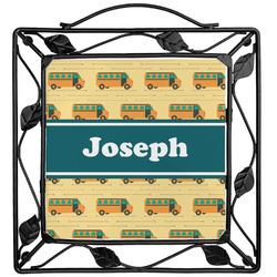 School Bus Trivet (Personalized)