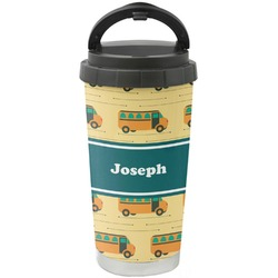 School Bus Stainless Steel Coffee Tumbler (Personalized)