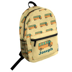 School Bus Student Backpack (Personalized)