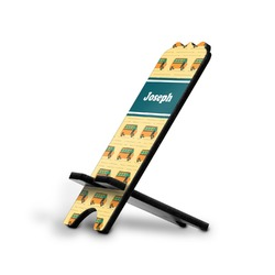 School Bus Stylized Phone Stand (Personalized)