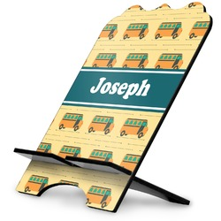 School Bus Stylized Tablet Stand (Personalized)
