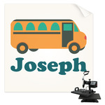 School Bus Sublimation Transfer (Personalized)
