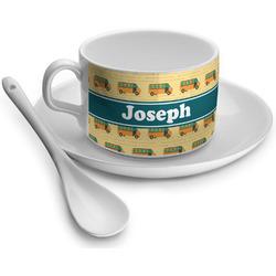 School Bus Tea Cups (Personalized)
