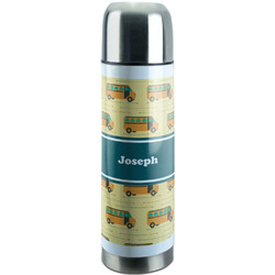 School Bus Stainless Steel Thermos (Personalized)