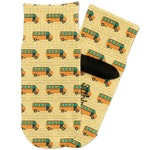 School Bus Toddler Ankle Socks (Personalized)