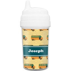 School Bus Toddler Sippy Cup (Personalized)