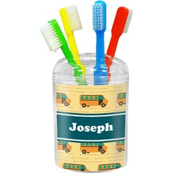 School Bus Toothbrush Holder (Personalized)