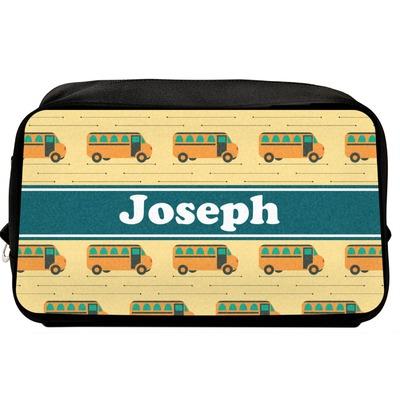 School Bus Toiletry Bag / Dopp Kit (Personalized)