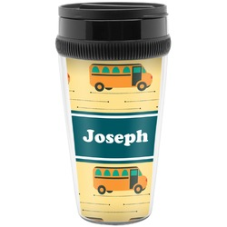 School Bus Travel Mugs (Personalized)