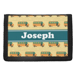 School Bus Trifold Wallet (Personalized)