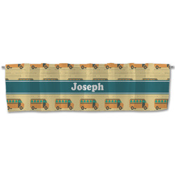 School Bus Valance (Personalized)