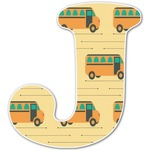 School Bus Letter Decal - Custom Sizes (Personalized)