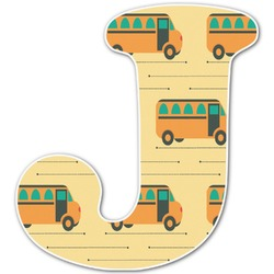 School Bus Letter Decal - Custom Sized (Personalized)