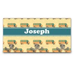 School Bus Wall Mounted Coat Rack (Personalized)