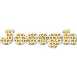 School Bus Name/Text Decal - Custom Sized (Personalized)