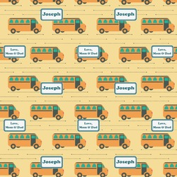 School Bus Wrapping Paper (Personalized)