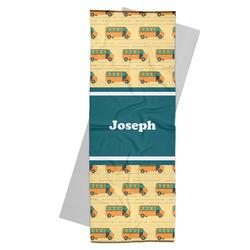 School Bus Yoga Mat Towel (Personalized)
